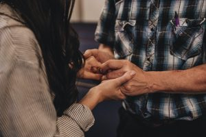 67551 Man and woman praying together   Community Life Church, Gulf Breeze, FL   Care Ministry